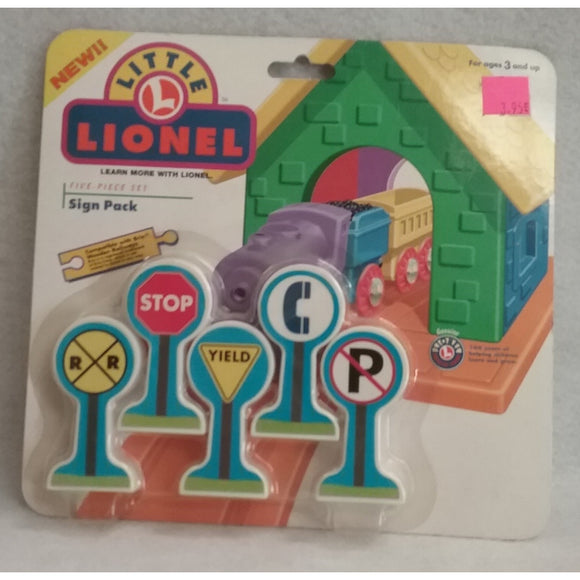 Lionel 7-75002 Little Lionel Sign Pack