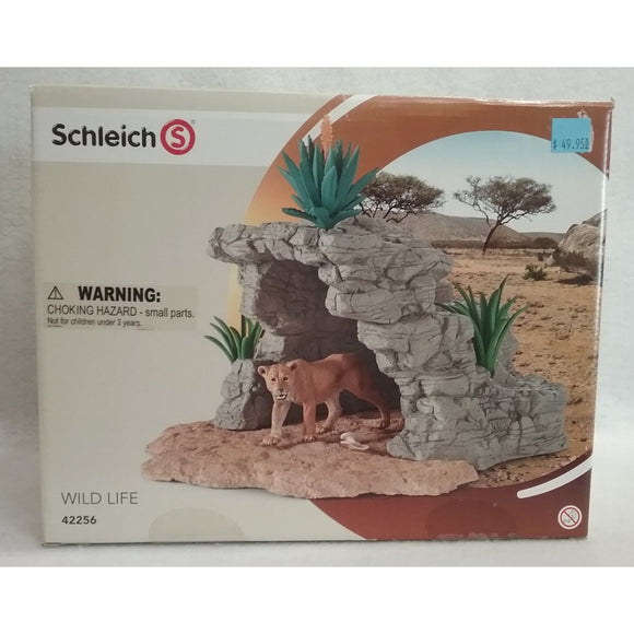 Schleich 42256 Wild Life Display Set