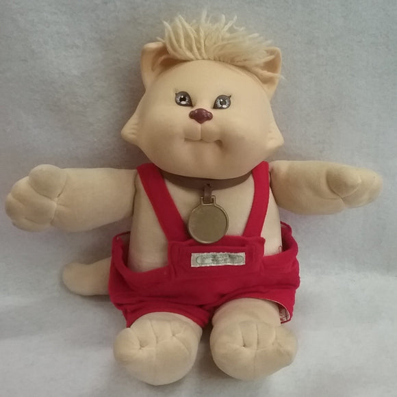 Coleco 1980's Vintage  Cabbage Patch Kids Koosas Kitty