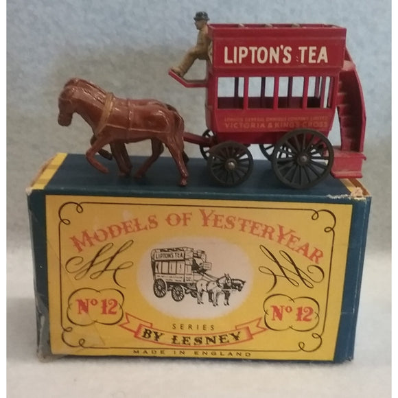 Lesney Models Of Yesteryear No.12 Horse Bus