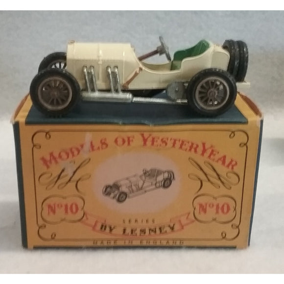 Lesney Models Of Yesteryear No.10 1908 Mercedes