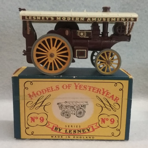 Lesney Models Of Yesteryear No.9 Fowler Showman's Engine