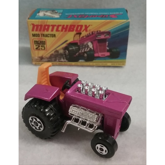 Lesney Matchbox Superfast Series No.25 Mod Tractor