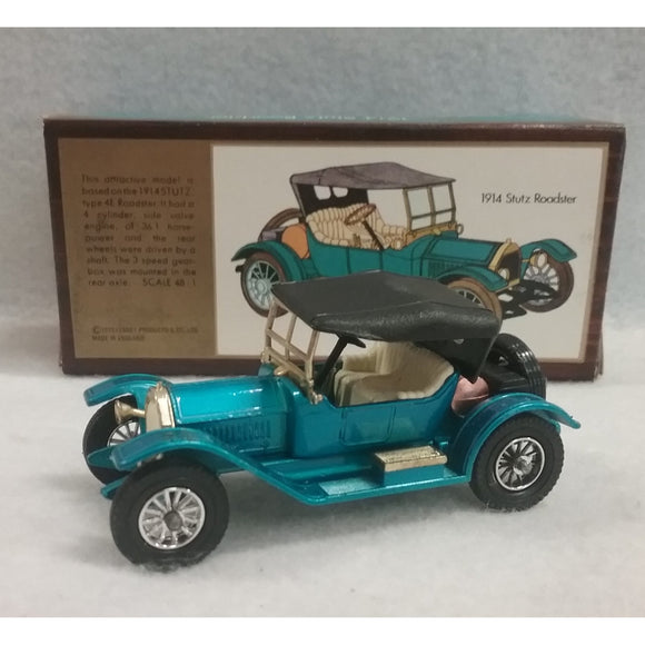 1/48 Scale 1973 Lesney Matchbox Models Of Yesteryear No.Y-8 1914 Stutz Roadster