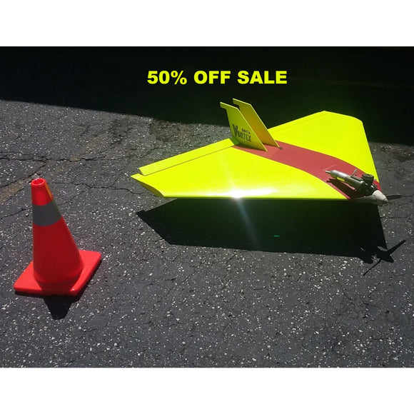 50% OFF SALE !!!-Delta Vortex RC Plane With OS.92 Motor