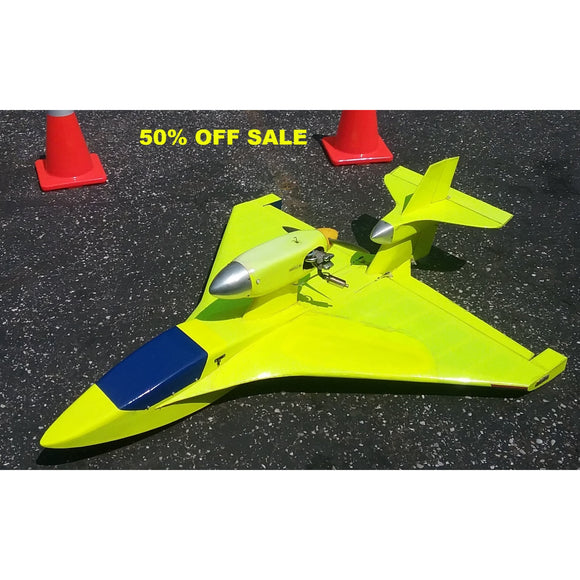 50% OFF SALE !!!- RC Flyer With Saito 91 Engine