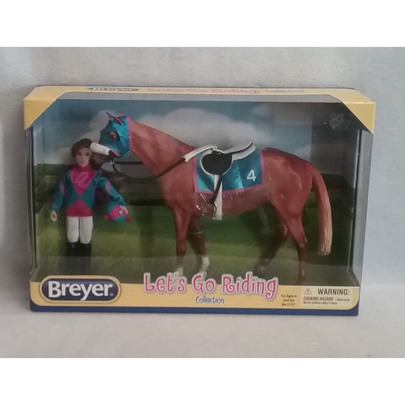1/9 Scale Breyer No.1727 Let's Go Riding
