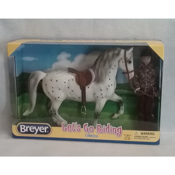 1/9 Scale Breyer No.1409  Let's Go Riding