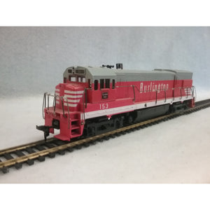 HO Scale Athearn  Burlington Locomotive No.153  Unpowered