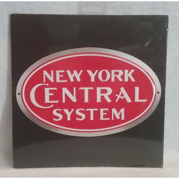 New York Central System Metal Sign