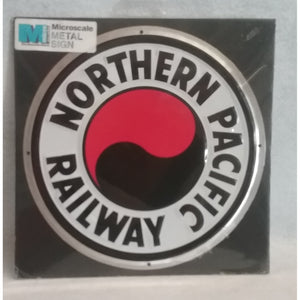 Northern Pacific Railway Metal Sign