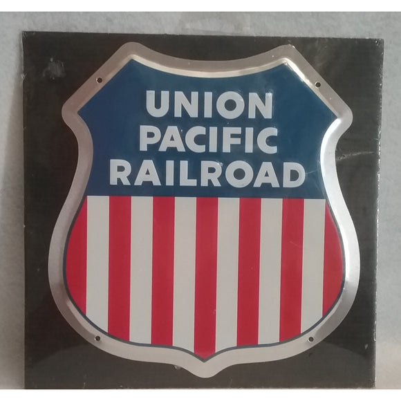 Union Pacific Railroad Metal Sign
