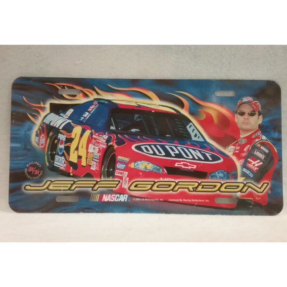 Nascar Jeff Gordon Metal License Plate