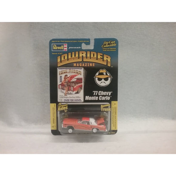 1/64 Scale Revell No.86-3052 Die Cast '77 Chevy Monte Carlo