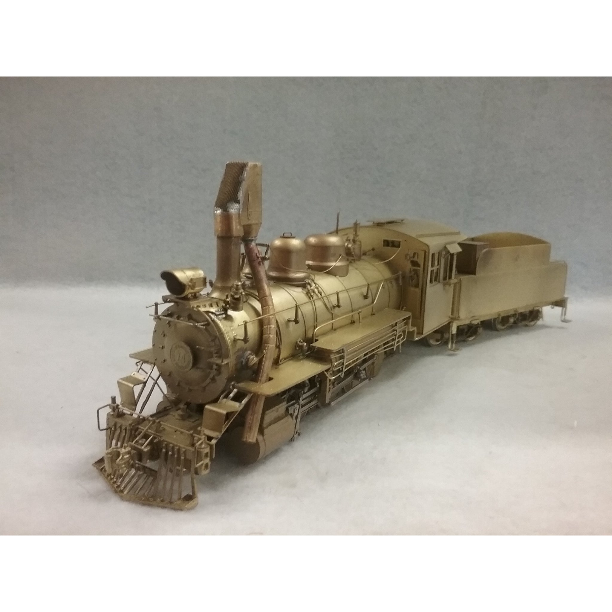 NIB On3 #74 Colorado & Southern Brass 2-8-0 Consolidation by