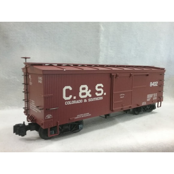 G Scale Aristo-Craft Colorado & Southern (C & S) Woodside Boxcar