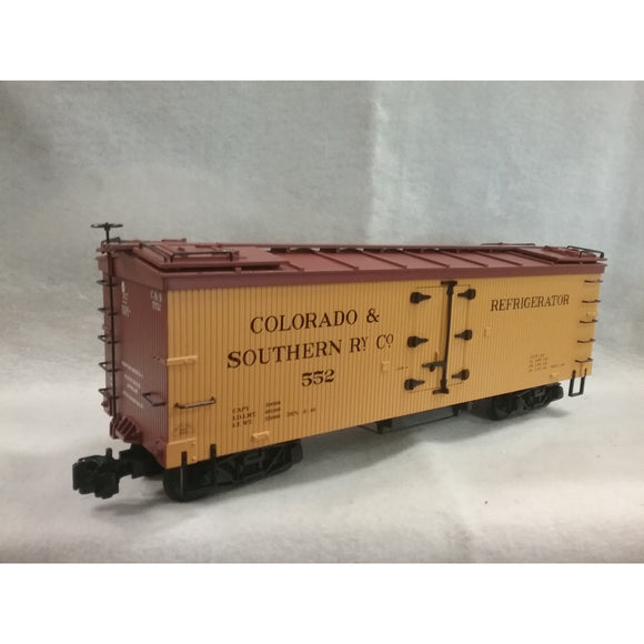 G Scale Aristo-Craft Colorado & Southern (C & S) Woodside Reefer
