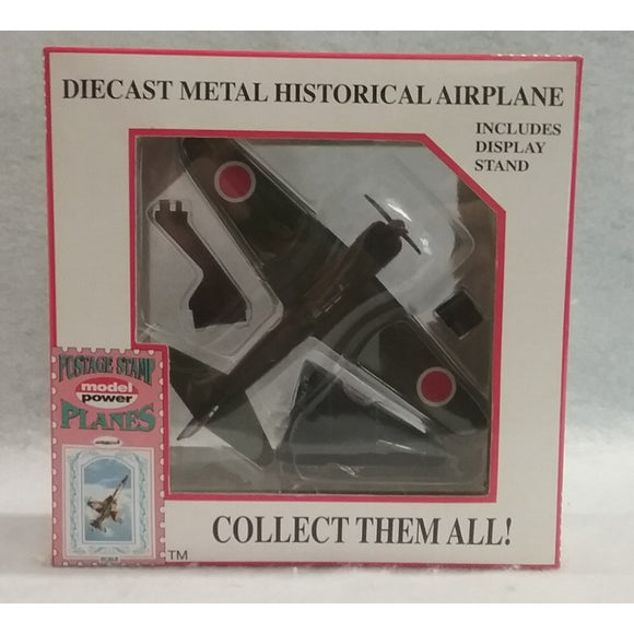 1/100 Scale  Model Power No.5343-1  Die Cast  Mitsubishi A6M2B