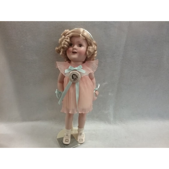 The Bradbury Mint Shirley Temple Porcelain Doll