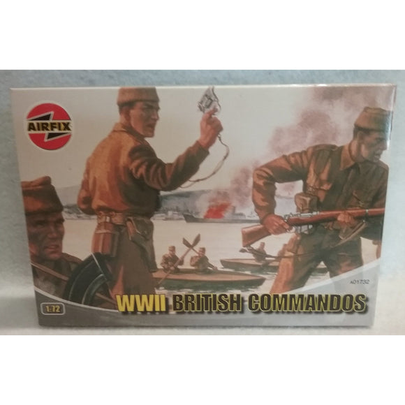 1/72 Scale Airfix No.A01732  WWII British Commandos