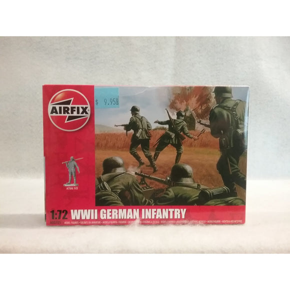 1/72 Scale Airfix No.A00705  WWII German Infantry