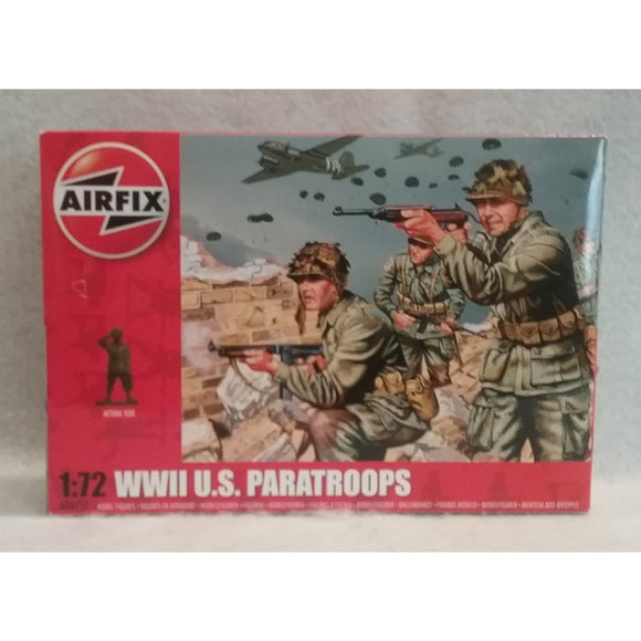 1/72 Scale Airfix No.A00751  WWII U.S. Paratroops