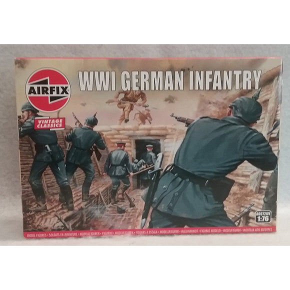 1/76 Scale Airfix No.A00726V  WWI German Infantry