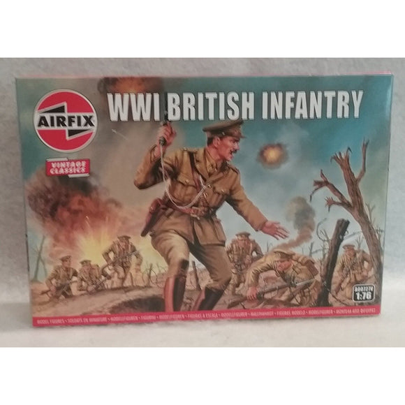1/76 Scale Aifix No.A00727V  WWI British Infantry