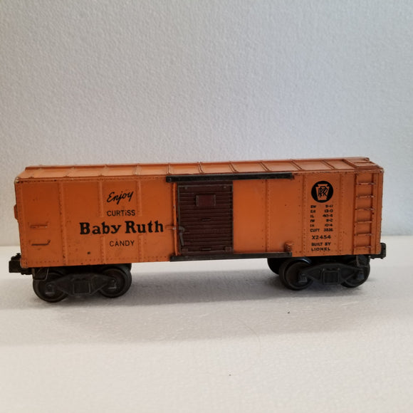 O Gauge  Lionel  Box Car  Baby Ruth  No.X2454