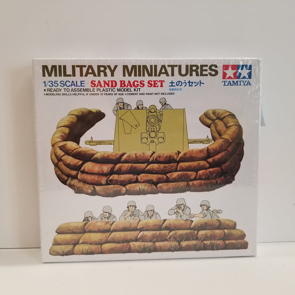 1/35 Scale Tamiya No.35025 Sand Bags Set