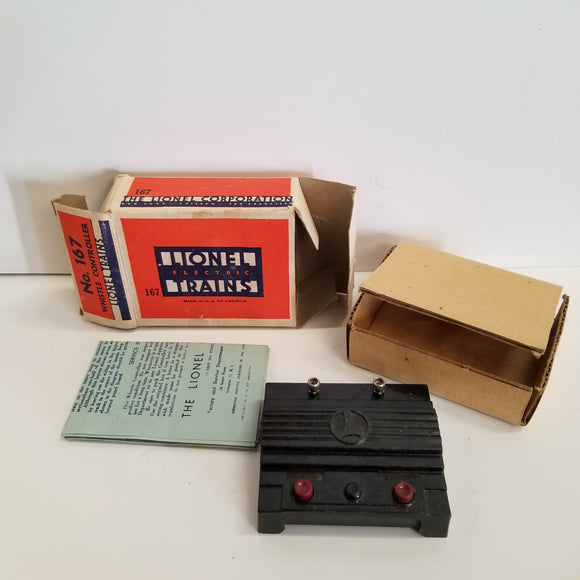 O Gauge Lionel No.167 Whistle Controller
