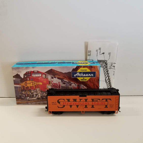 HO Scale Athearn No.5212 40' Swift Reefer Wood