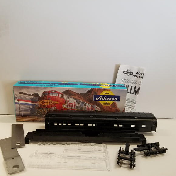 HO Scale Athearn No.1860  STD Pullman Kit Undercoated Black