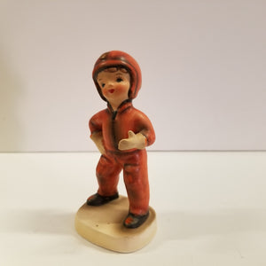 Vintage Geo Z. Lefton Porcelain Military Boy