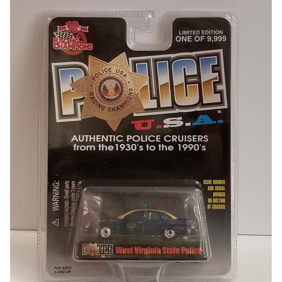 1/64 Scale Racing Champions No.89  West Virginia State Police