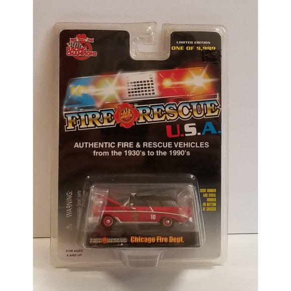 1/64 Scale Racing Champions No.11 Chicago Fire Department