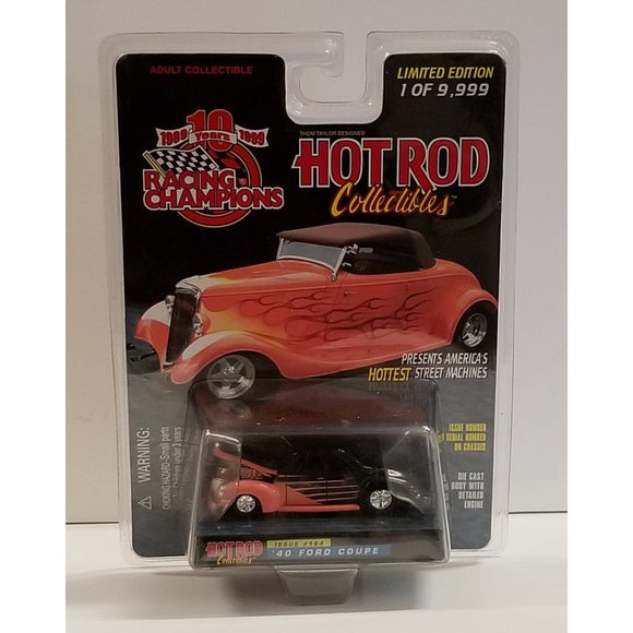 1/64 Scale Racing Champions Hot Rod Magazine No.164 '40 Ford Coupe