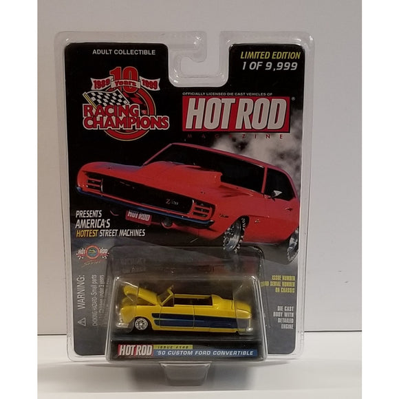 1/64 Scale Racing Champions Hot Rod Magazine No.148 '50 Custom Ford Convertible