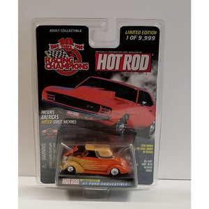 1/64 Scale Racing Champions Hot Rod Magazine No.156 '37 Ford Convertible