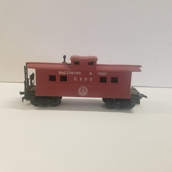 HO Scale Tyco Baltimore & Ohio Caboose No.C200
