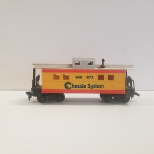 HO Scale Life-Like Chessie System Caboose No.WM 1872