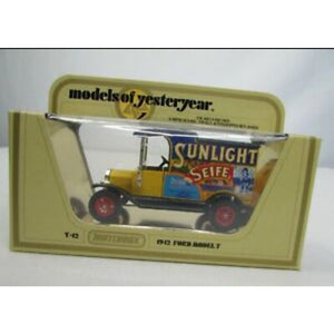 1/35 Scale Matchbox Models Of Yesteryear No.Y-12 1912 Ford Model T