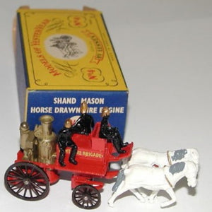 1/63 Scale Lesney Models Of Yesteryear No.4 Shand Mason Horse Drawn Fire Engine