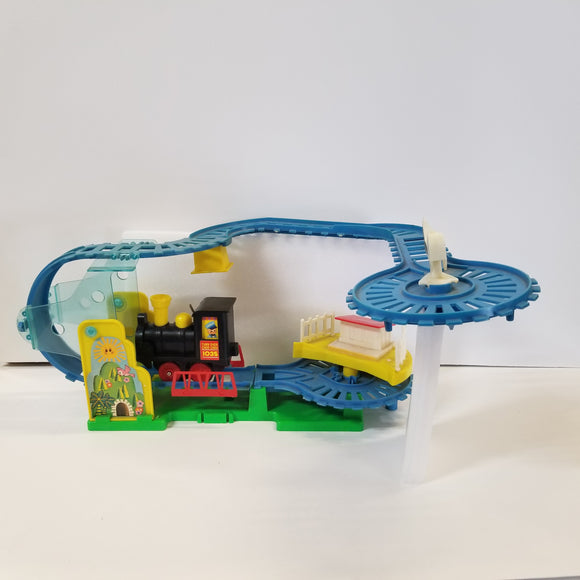 Walt Disney's Mickey Mouse Turn Over Choo Choo Train Toy no box