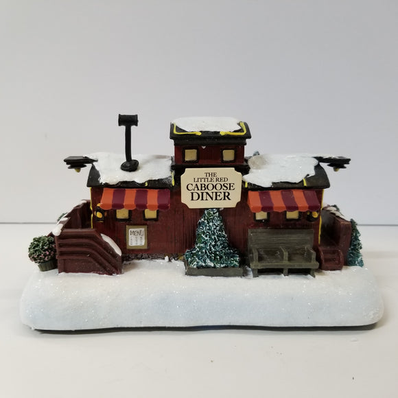 Hawthorne Village Collection No.A0352 Little Red Caboose Diner