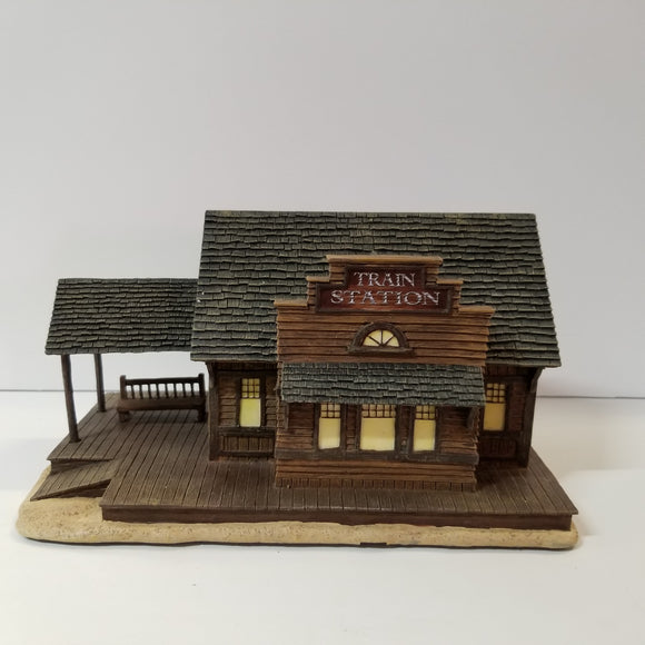 Hawthorne Village Collection No.A1247 Boothill Train Station