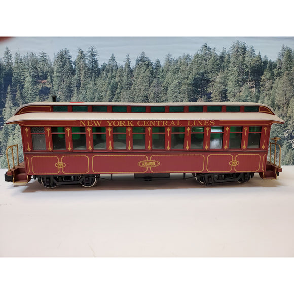 G Scale Bachmann New York Central Lines Alhambra 999 Coach Car