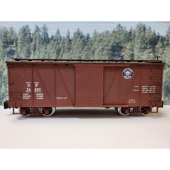 G Scale Charles Ro Southern Pacific SP 26485 Boxcar Car