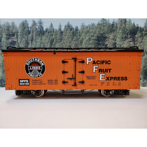 G Scale Charles Ro Southern Pacific Fruit Express SPFE 453185 Refrigerator Car