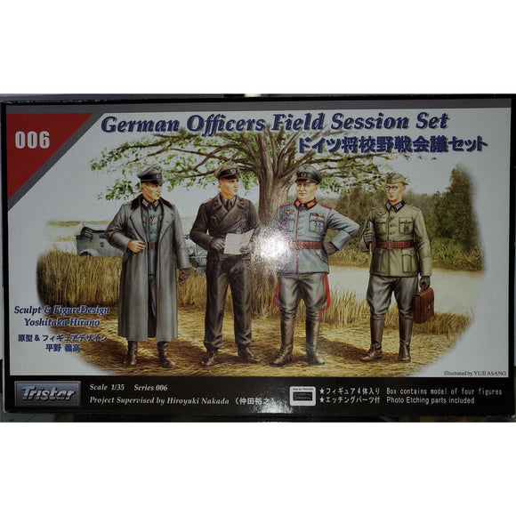 1/35 Scale Tristar 35006 German Officers Field Session Kit Model Kit